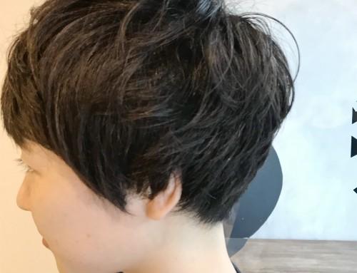 加藤 純  ショートスタイル