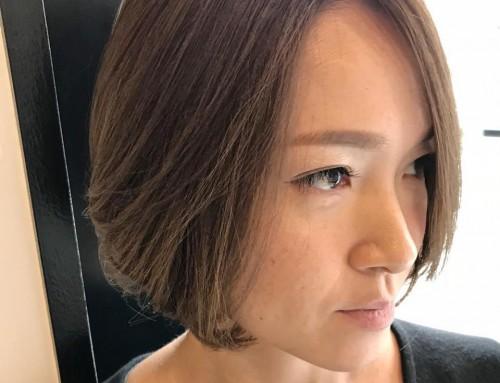 加藤 純  ボブスタイル